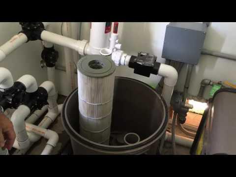 Hayward SwimClear(tm) Cartridge Filter Cleaning