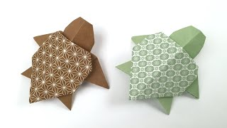 How to Make an Origami Turtle Step by Step Instructions | Free ... | 180x320