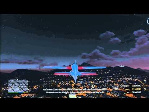 GTA 5 - Flight School - 3.Inverted Flight Gold Medal Guide
