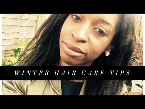 Grow Healthy Relaxed Hair In Winter  | Prevent Dry Hair & Breakage!