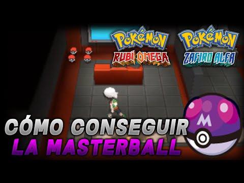 Pokémon Rubí Omega/Zafiro Alfa - Cómo conseguir la MasterBall