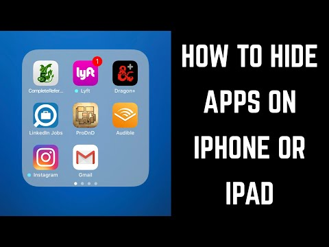 How to Hide Apps on iPhone or iPad