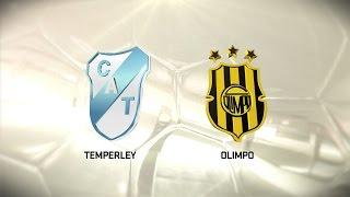 Fútbol en vivo. Temperley vs. Olimpo. Fecha 9. Torneo de Primera División 2016/2017. FPT