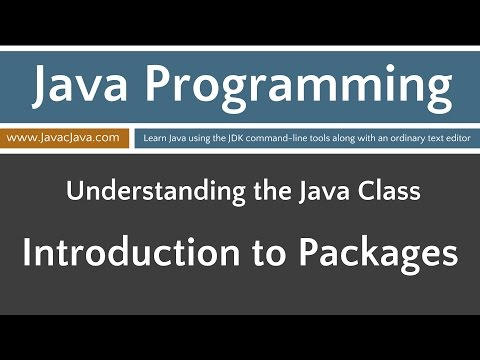 Learn Java Programming - Introduction to Packages Tutorial