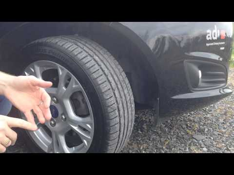 Irish Driving Test Technical Checks - Tyres