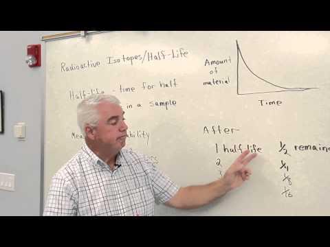 Radioactive Isotopes / Half-life