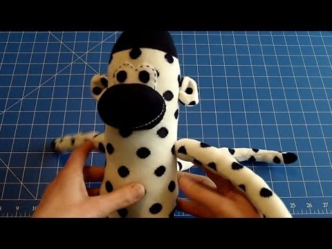 How To Make A Sock Monkey Step By Step For Beginners