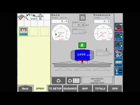 AIM Command FLEX: Changing the Rate on the AFS Pro 700 display
