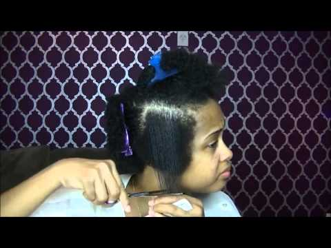 How To Tapered Haircut on Natural Hair ✿ How to Cut Natural Hair Tutorial ✿ Kimmy Boutiki