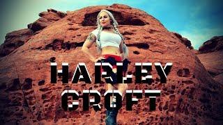 Harley Quinn Lara Croft Mash Up Cosplay mp3