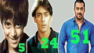 Salman Khan - Transformation From 1 to 51 Years Old