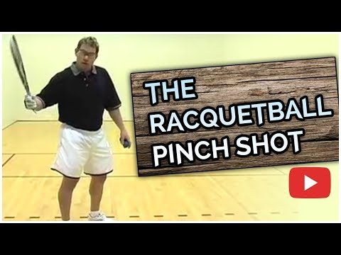 Power Racquetball Tips for Advanced Players - The Pinch Shot - Marty Hogan