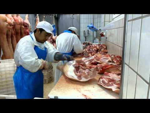 how to debone pork shoulder & pork ham leg