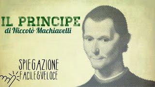 Il PRINCIPE di Niccolò MACHIAVELLI: spiegazione FACILE e VELOCE