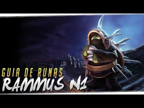 RAMMUS N1 | El mejor jungler a día de hoy - Reverberación BROKEN!