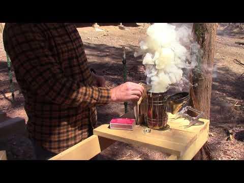 How to Easily Light a Bee Smoker