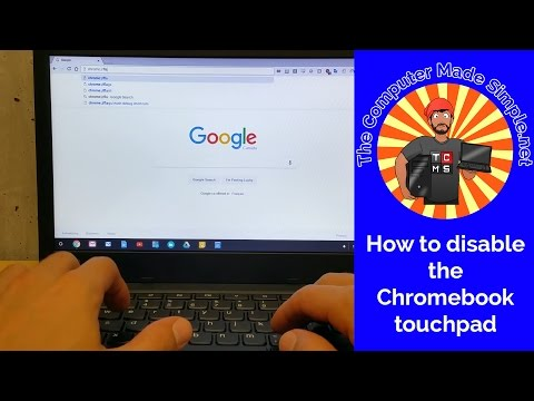 How to disable the Chromebook touchpad - QUICK TIPS