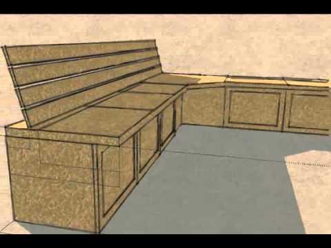 Built-in Kitchen Bench Seat/Storage