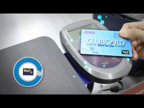 All-New Tesco Clubcard with Touch 'n Go