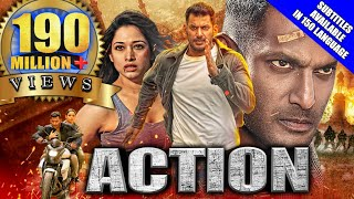 Action (2020) New Released Hindi Dubbed Full Movie | Vishal, Tamannaah, Aishwarya Lekshmi, Yogi Babu