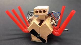 Download How to Make Powerful Mini V6 Motor for Toys Video