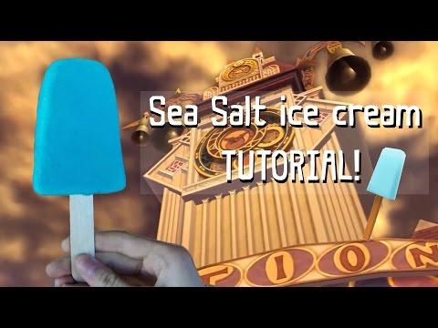 How to make Sea Salt ice cream for cosplay