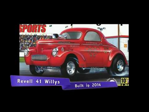 TBT Revell 41 Willy's Built In 2014