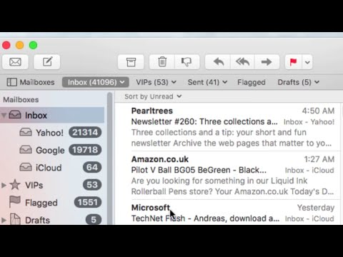 How to Show Unread Emails ONLY in Mail for OS X