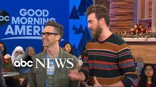 Download Stars Rhett and Link taste test unique gingerbread avocado toast, scrambled eggnog Video