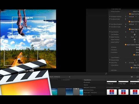 Custom Framing in Whips 2.0 for FCPX