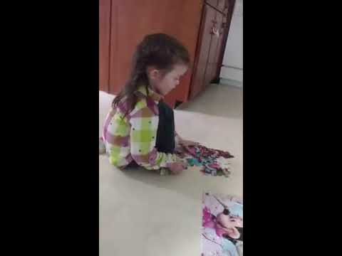 Learning to Do Puzzles With Grandma - Grand-Princess One