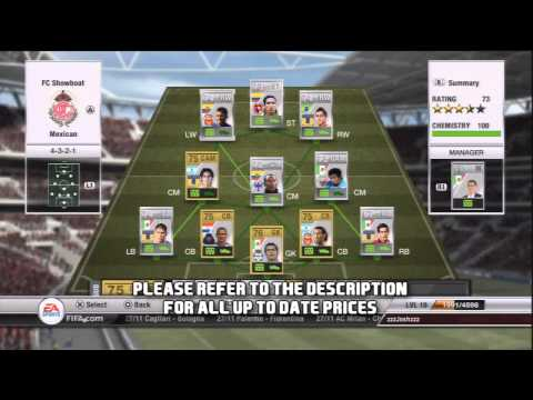 FIFA 12 Ultimate Team - The Mexican League Team - Awesome Goals! -You Pick I Build 7 - Tips & Tricks