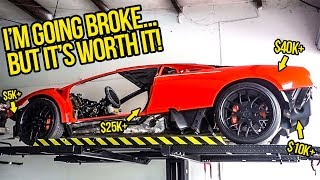 "My ""Cheap"" Fast & Furious Lambo Is Actually CRAZY EXPENSIVE (HUGE GARAGE UPDATE)"