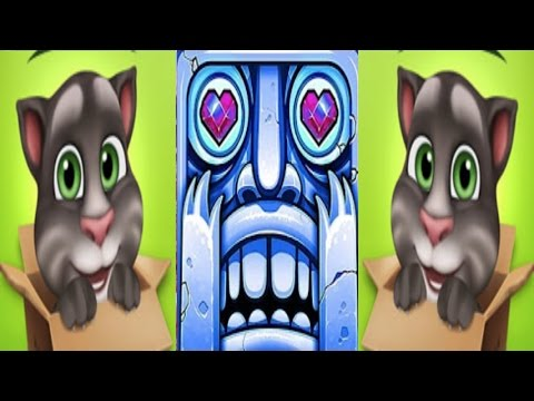 My talking tom-Temple run 2-Level 346 Vs Scarlett fox-Gameplay great make for Kid #105