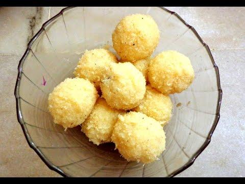 How to Make KOBBARI LADDU Recipe in Telugu