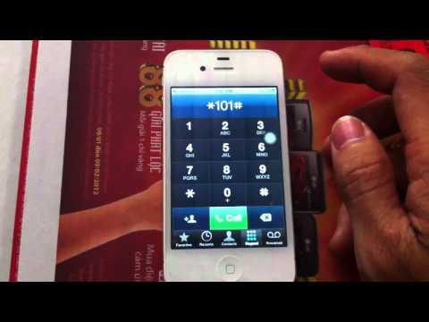 Half unlock iphone 4s Verizon by tch