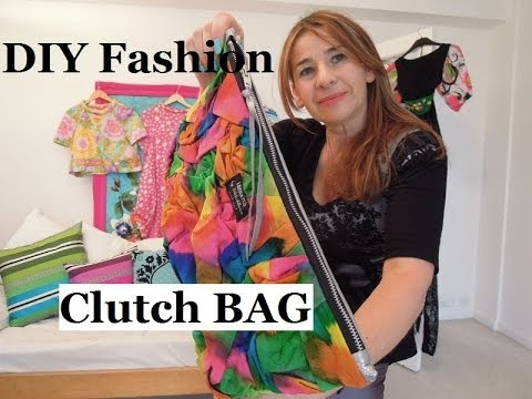 DIY How to make a clutch bag