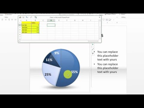 Custom Your Data Driven PIE Charts in PowerPoint Graphs Pack