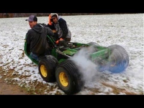 Snow Tank Build & Ride