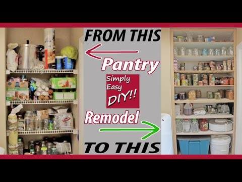 DIY Pantry Remodel #1 of 2
