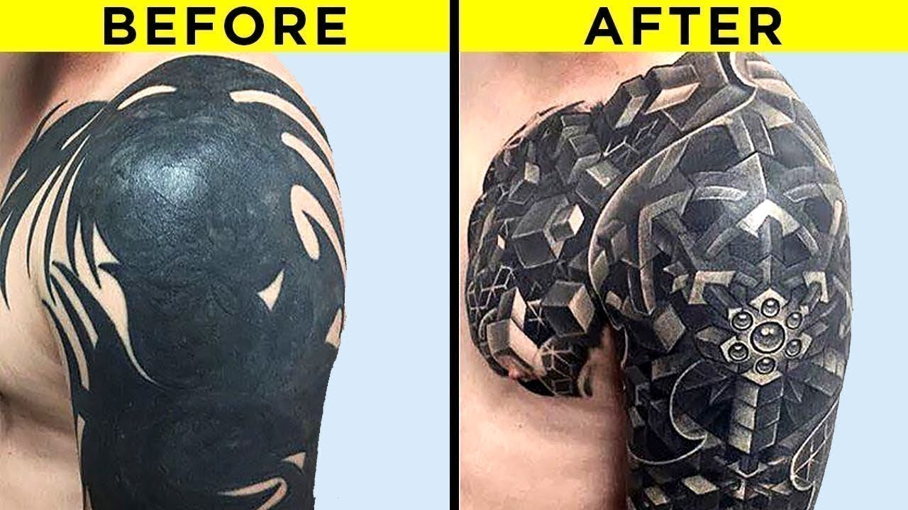 Most Creative Tattoo Cover Ups