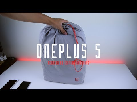 OnePlus 5 Unboxing - Reviewer Edition