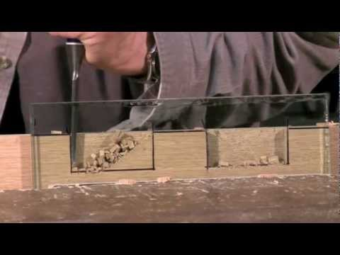 Cutting a Mortise - Mortise chisel vs bevel edge chisel | Paul Sellers