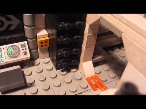 Lego Nuclear Submarine