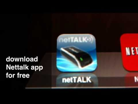 Nettalk for iPhone/iPad/iTouch(make free calls to US & Canada)