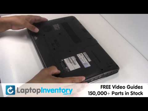 Toshiba DVD P775 A665 Replacement | Optical Drive Laptop Notebook Install Guide, Replace