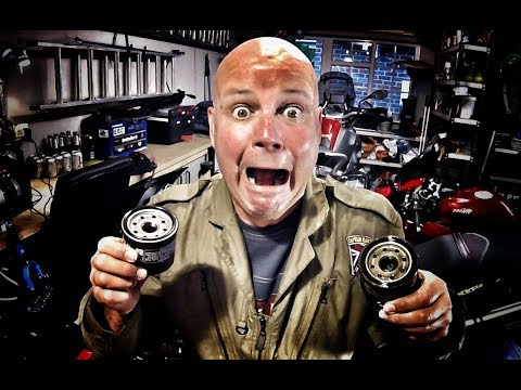 Motorcycle oil filter removal NIGHTMARE - How to remove an oil filter when all else fails