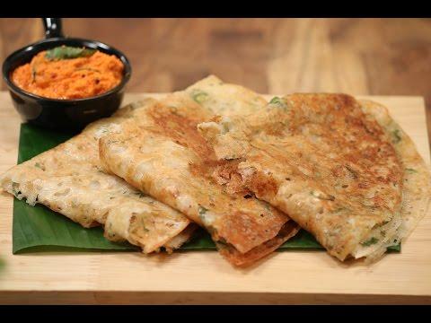 Rawa Dosa And Red Chutney | Majha Kitchen | Sanjeev Kapoor Khazana