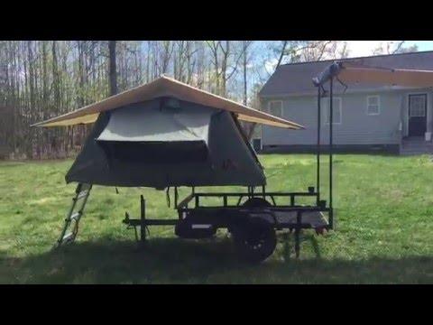 Mini Pop Up Tent Camper