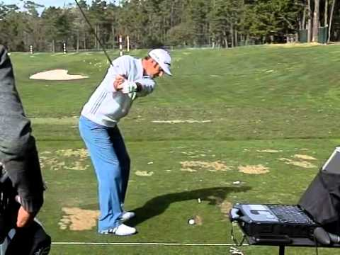 Dustin Johnson Iron Swing